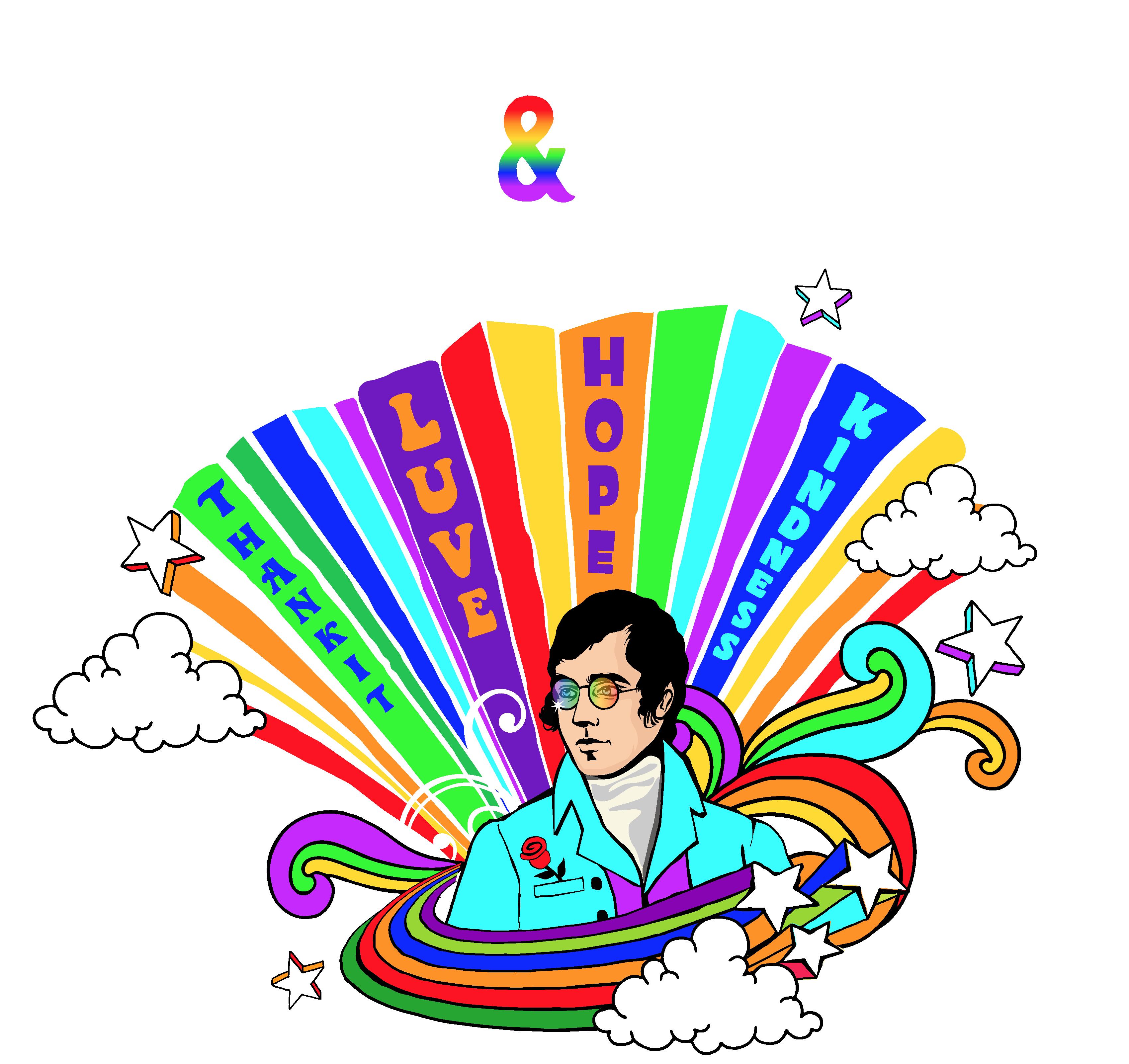 Burns & Beyond rainbow illustration