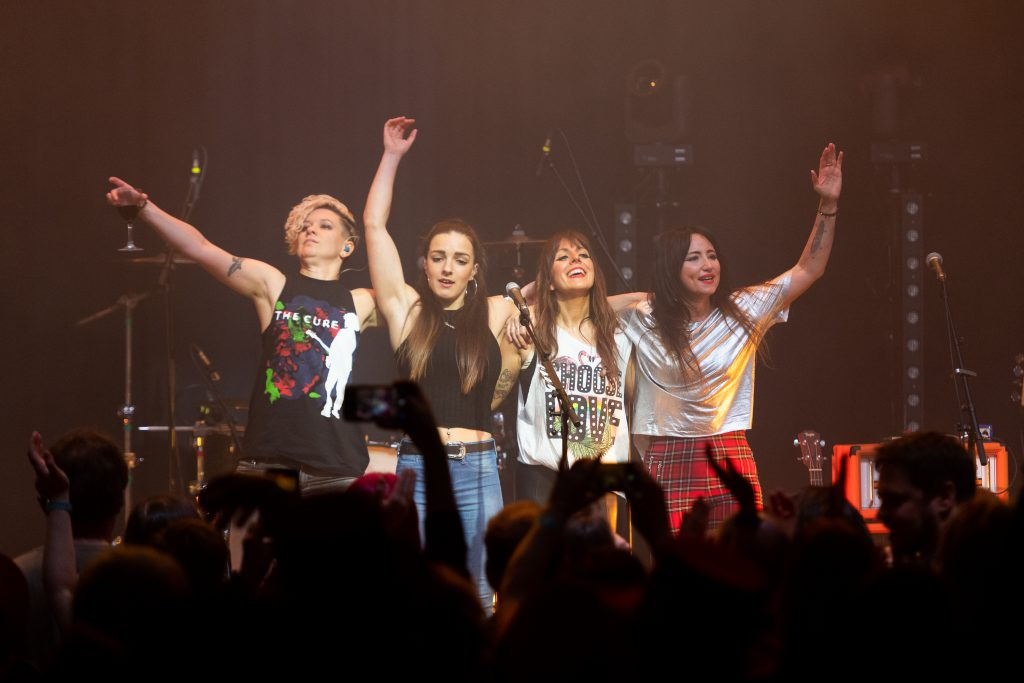 KT Tunstall and Friends onstage