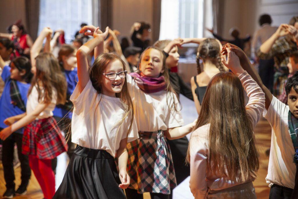 Abbeyhill School pupils