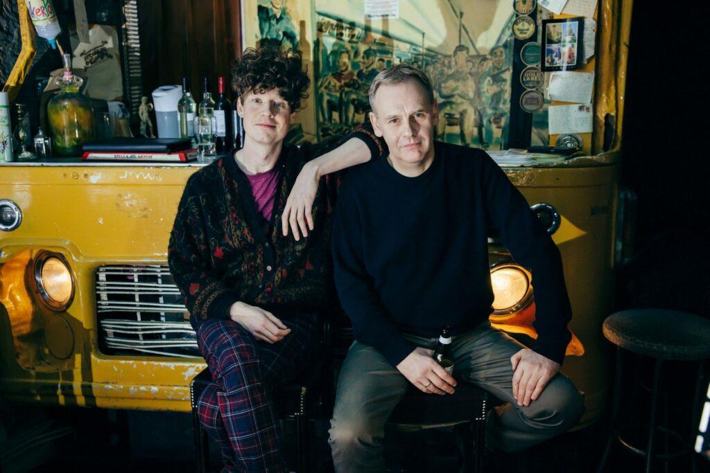 Michael Pedersen and Kevin Williamson of Neu Reekie